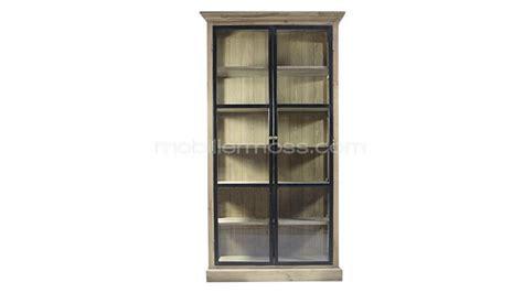 bureau dans une armoire vitrine caruso mobilier moss