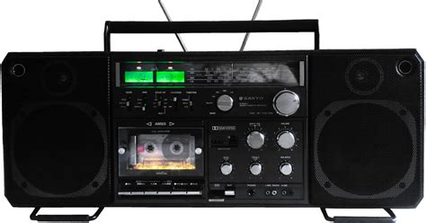 Cassette Player Boombox by Boombox
