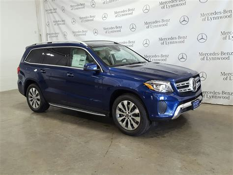 Its interior upgrades include ambient lighting, leather dashboard, special wood trim, and premium porcelain/expresso brown leather upholstery with stitched surfaces. New 2019 Mercedes-Benz GLS GLS 450 4MATIC® SUV in Lynnwood ...