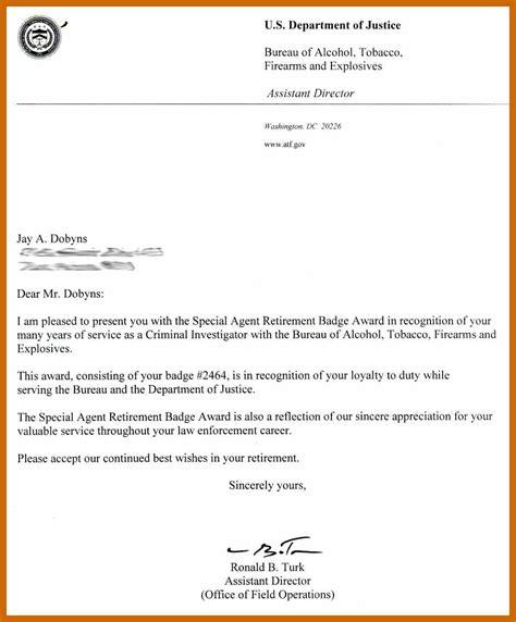 retiring letter  boss resumetablet