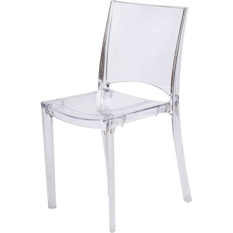 chaises polycarbonate chaise de jardin en polycarbonate transparent