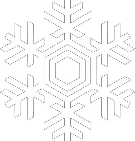 Cetakan Salju Frozen Stencil free vector graphic snow snow