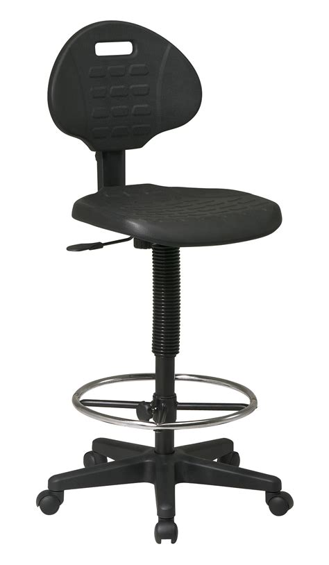 office drafting chair with adjustable footrest by oj