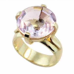 14ct & 9ct Yellow Gold Amethyst Ring - Cameron Jewellery