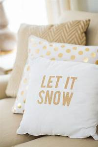diy sparkly holiday throw pillows please home decoz With christmas throws and pillows