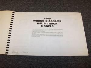 1989 Chevy P10 P20 P30 P