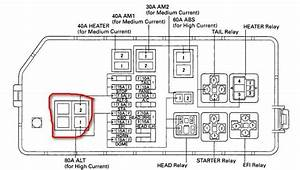 Circuit Electric For Guide  2007 Tacoma Fuse Diagram