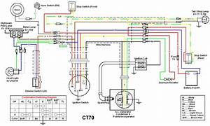 1971 Honda Ct70 Wiring Diagram Images