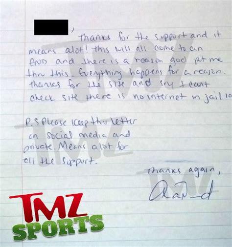 aaron hernandez prison letters read aaron hernandez s second hand written letter from