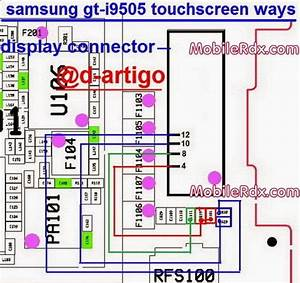 Samsung Galaxy S4 I9505 Touch Connecter Jumper Solution