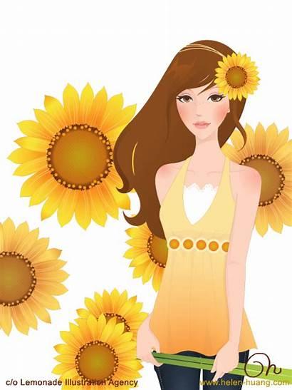 Cqcat Flower Behance Deviantart Covers Helen Huang