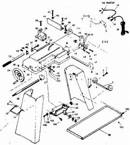 Craftsman Model 351214010 Band Saw Genuine Parts