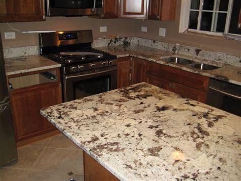 Fascinating Alaska White Granite With Kitchen