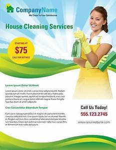 use this home cleaning flyer template to advertise your With cleaning services advertising templates