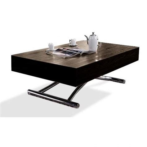 table basse relevable but tables basses tables et chaises table basse relevable cube weng 233 extensible 12 couverts