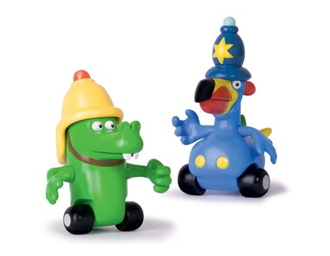 Jungle Junction Duo Character Tube Bobby And Crocker