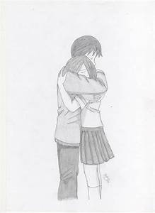 Scetch 1 : Couple Hugging by Nick-San90 on DeviantArt