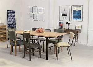 Déco Style Industriel : table style industriel en bois et metal ~ Teatrodelosmanantiales.com Idées de Décoration