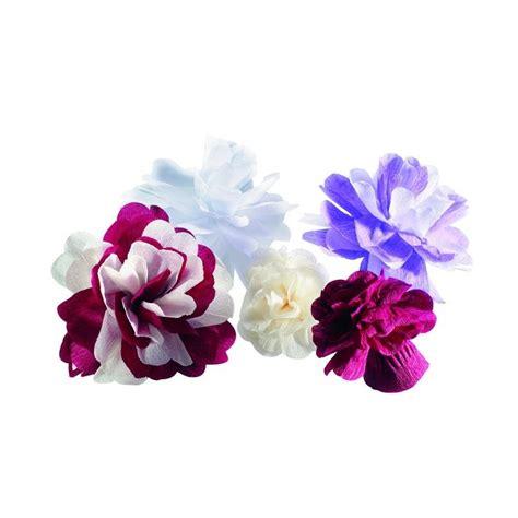 idee deco papier crepon fleur en papier cr 233 pon petales decoration mariage drag 233 e d amour