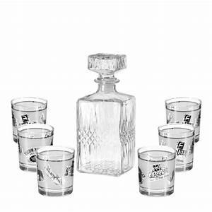 Service A Whisky : service whisky 7 pi ces 25cm transparent ~ Teatrodelosmanantiales.com Idées de Décoration