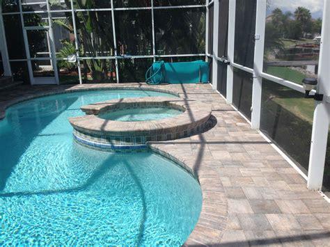 oak run paver pool deck elite pavers  tampa bay