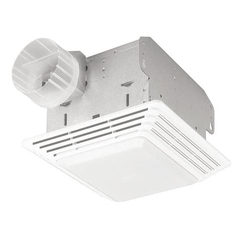 bath fan light combo 50 cfm broan 678 ventilation fan light combo bathroom