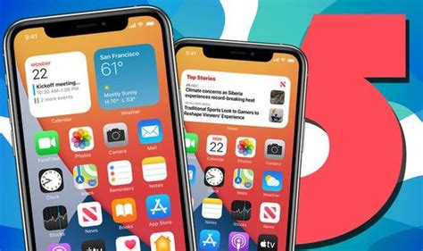 iOS 14 release date: Five iPhone features Apple didn't ...