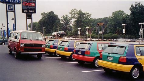 Volkswagen Golf Harlequin Vw S Strangest Idea The