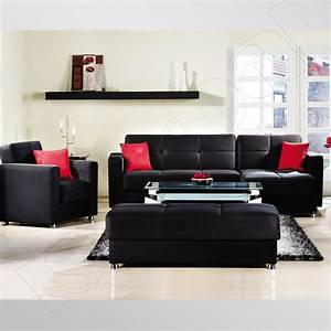 Red, And, White, Living, Room, Decorating, Ideas