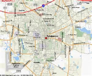 Florida Map Tallahassee FL