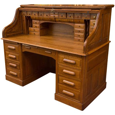 roll top desk exceptional oversized s type oak roll top desk for at