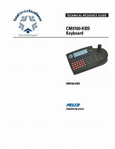 Pelco Spectra Iii Dome Drive Models Sm Service Manual