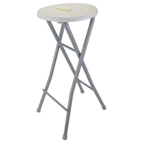 tabouret de bar pliable pliant portable chaise pouf siege