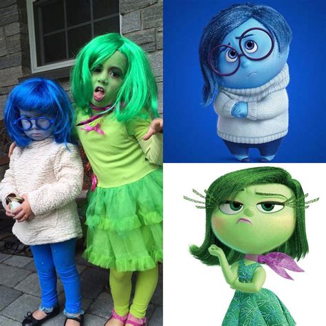 From Disney's Inside Out Sadness and Disgust #Disney #