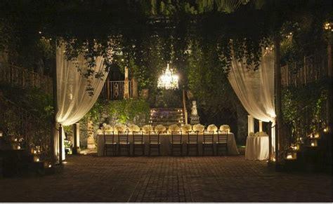 magical garden wedding reception magic garden