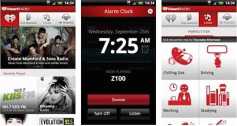 iheartradio android iheartradio keeps android users in mind boosts app with