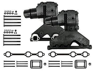 omcvolvo penta   exhaust manifold riserelbow kit