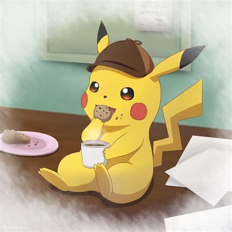 detective pikachu  lightnookz  deviantart