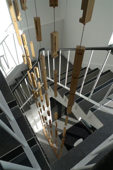 apption labs entrance sculpture mwk architects