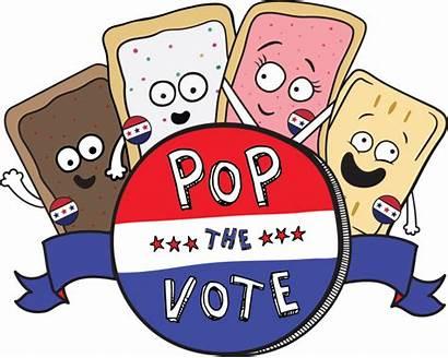 Pop Tarts Vote Clipart Pizza Money Election
