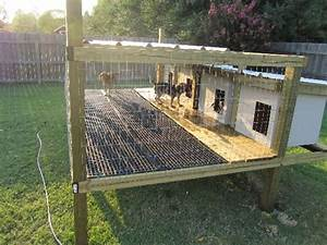 image result for dog kennels off the ground ranch hand With in ground dog house