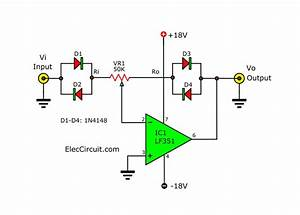 Signal Amplifier Circuit Diagram With Set Input