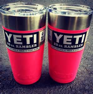 Pink Yeti Cup