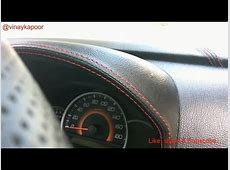 The Art of leather wrapping a car's dashboard custom