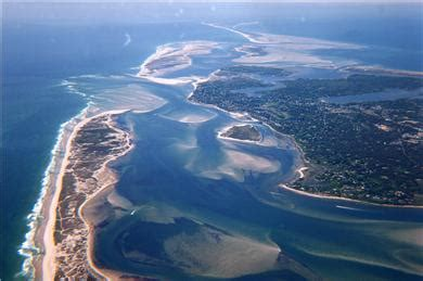 east orleans cape vacation rental arial view pleasant bay
