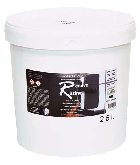résine colorée blanc pour rénover résine colorée multisupport renove resine 2 5l idéale