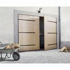 porte de garage battante 2 vantaux manuelle primo h200 x With porte garage 2 vantaux