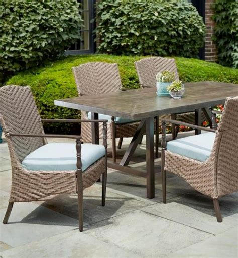 hton bay patio table hton bay vichy springs high patio