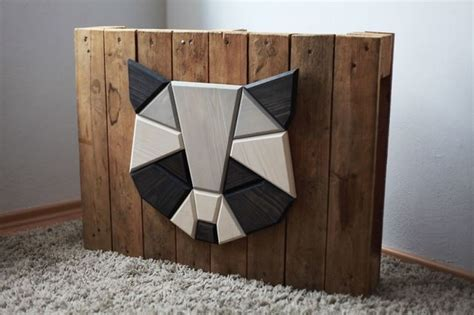 Wooden Zoo: Geometric Animal Heads Made From Wood   Designwrld