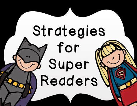 Strategies For Super Readers Freebie